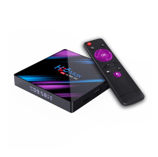 پخش کننده صوتی و تصویری تلویزیون اندروید 16 گیگ مدل H96