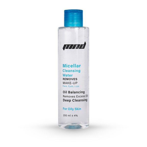 پاک کننده آرایش مناسب پوست چرب، میسلار واتر